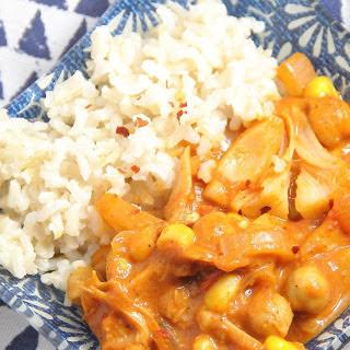 Pulled Jackfruit Curry [Vegan]