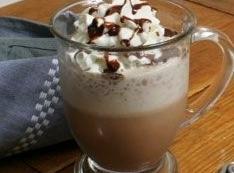 Combine Kahlua with prepared hot chocolate in Irish coffee mug. Top with whipped cream...