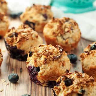 Muesli Blueberry Muffins