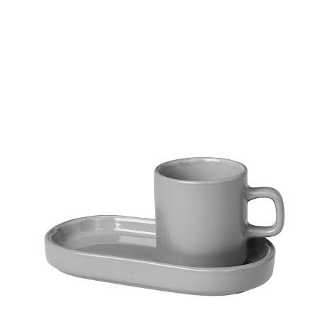 PILAR, Set 2 st Espressomuggar, Mirage Grey