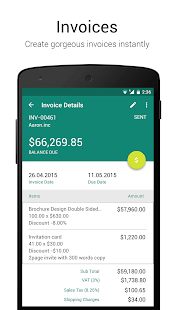 Accounting App Zoho Books Apps On Google Play - Invoice to go app android