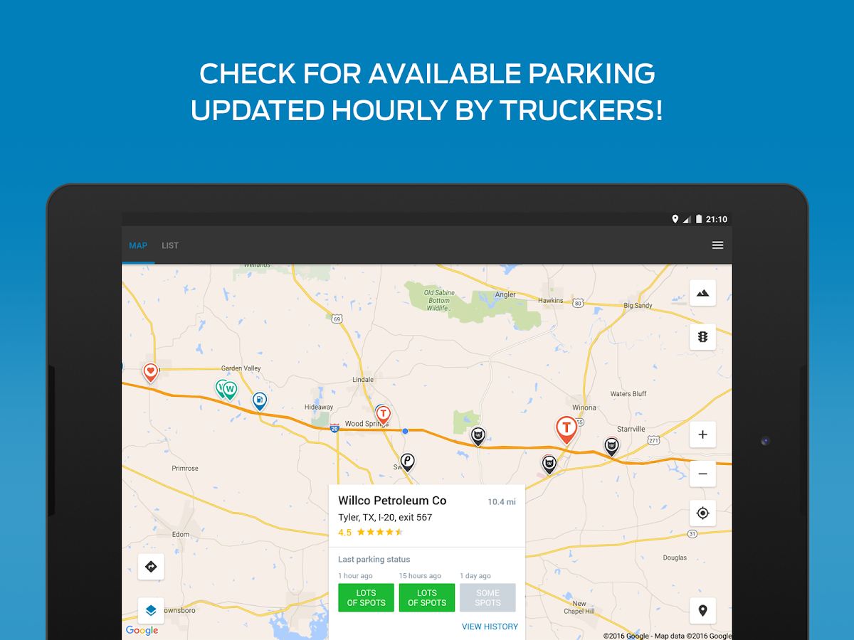 Truck Stop & GPS Trucker Path - Android Apps on Google Play