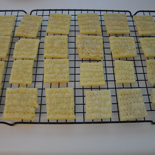 Gluten/Dairy Free Saltine Crackers