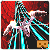3D Jet Fly High VR Racing Game