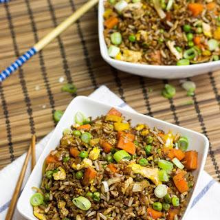 Vegetarian Fried Rice.