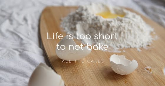 Too Short to Not Bake - Facebook Event Cover Template