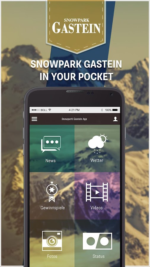 Snowpark Gastein- screenshot