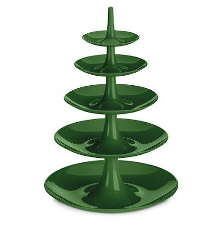BABELL BIG, Kakfat / Våningsfat / Serveringsfat, grön