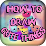 How to Draw Cute Things APK icon