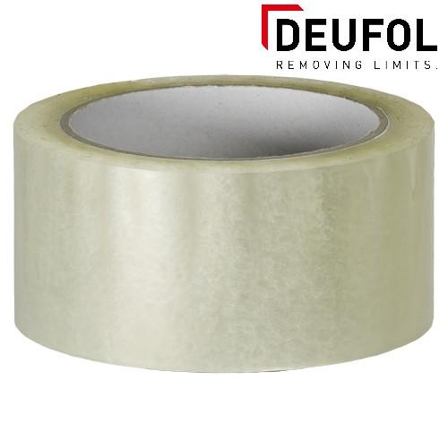 Kleefband transparant - 66m * 48mm * 25 μm