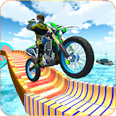 Extreme Bike Stunts Games 2019 icon