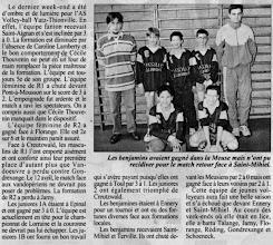 Photo: 27-03-97 Les benjamins