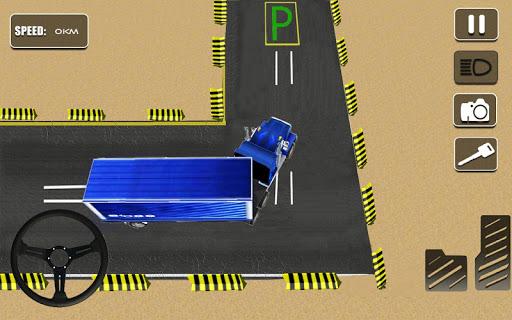 リアル トラック のシム パーキング