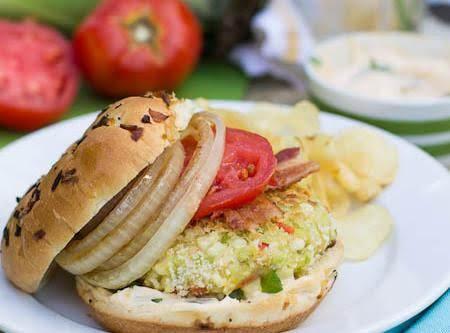 Succotash Burgers Recipe