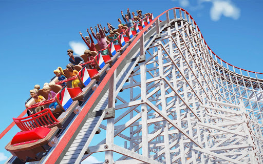 VR Water Roller Coaster Theme Park Ride  screenshots 4