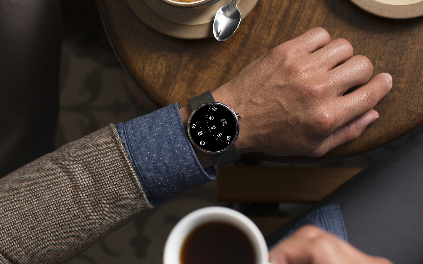 Roto Gears Watch Face for Android Wear- screenshot