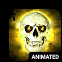 Wild Skull Animated Keyboard + Live Wallpaper icon