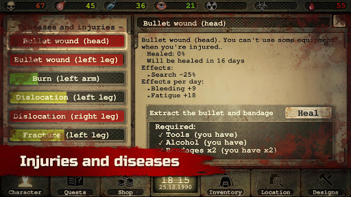 Day R Survival – Apocalypse, Lone Survivor and RPG - screenshot