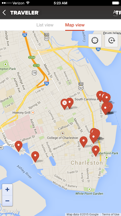 Exploring Charleston SC Android Apps on Google Play – Charleston Tourist Map