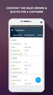 DynAX App for Dynamics AX CRM - náhled