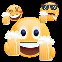 Cheers 2018 Gif Emoji Sticker icon