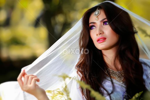 Beauty Of Indian Girl With White Dresses 01