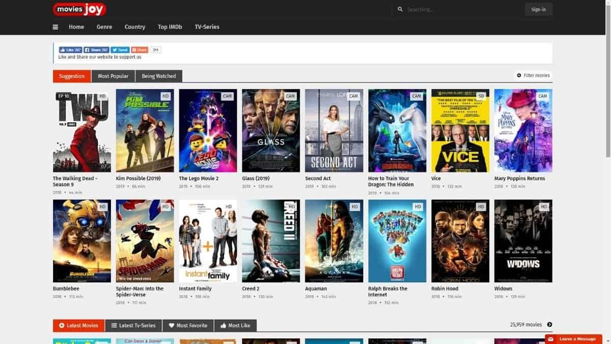 MoviesJoy- Free TV Shows