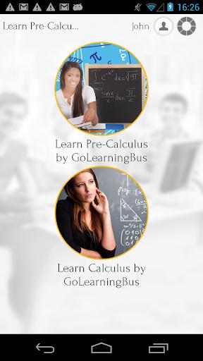 Learn Pre-Calculus Calculus