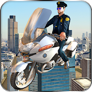 Flying Police Bike Rider 2016