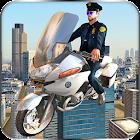 Volar Policía jinete de la icon