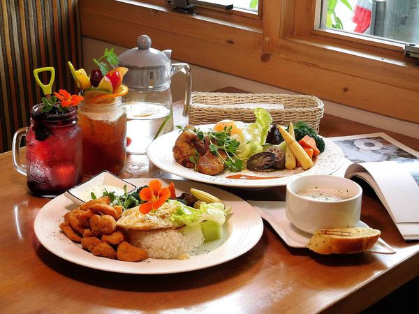 好好吃的酥炸鹽酥G與超好喝水果茶,適合聚餐的蒔蘿香草餐廳