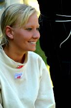 Photo: Christin Parpart, kein Model (Co Pilotin und Tochter von Piloten Wörtzel)