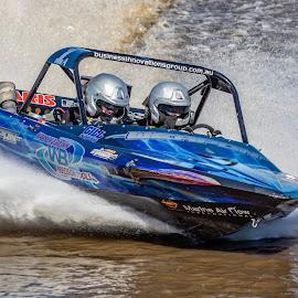 by Derek Clark - Sports & Fitness Watersports ( v8, jet boat, racing, superboat, championship, water )