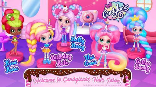 Candylocks Hair Salon - Style Cotton Candy Hair  Wallpaper 2