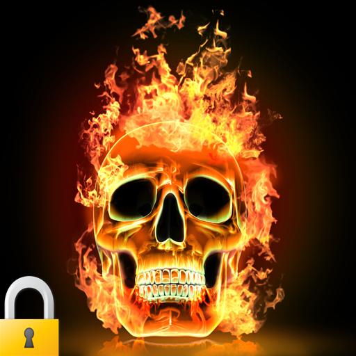 3D火骷髅锁 娛樂 App LOGO-硬是要APP