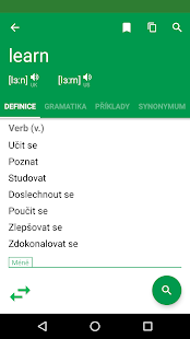 Anglicko-český Slovník - náhled
