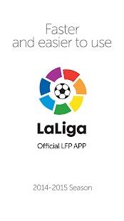 LaLiga - Official App - screenshot thumbnail
