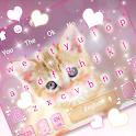 Cute Glowing Kitty Keyboard Theme icon