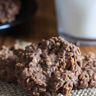 Chocolate Oatmeal No Bake Cookies.