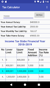 Pakistan Income Tax Calculator 2018-2019 App Download For Android 3
