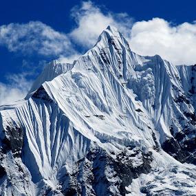 Part of Annapurna by Bhaskar Patra - Landscapes Mountains & Hills (  )
