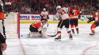 11/18/17: Flames 5 at Flyers 4 F/OT
