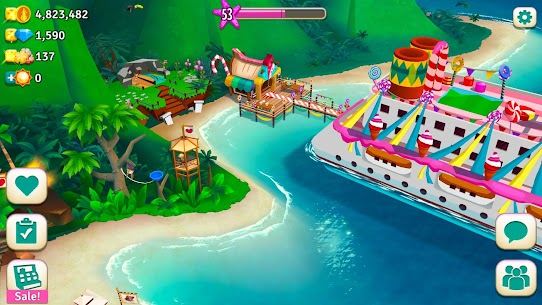 FarmVille 2 Tropic Escape Mod Apk [Unlimited Money + Menu Mod] 1.97.7059 6
