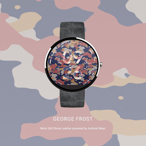 George Frost Watch Face