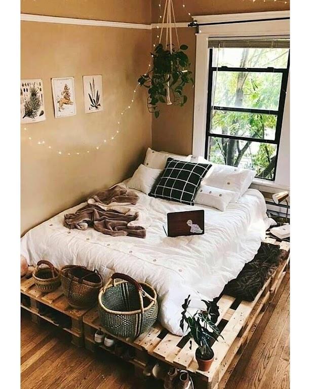 Sypialnia w modnych kolorach