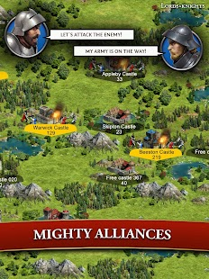 Lords & Knights - Medieval Strategy MMO- screenshot thumbnail