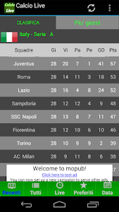 Calcio LIVE screenshot 6