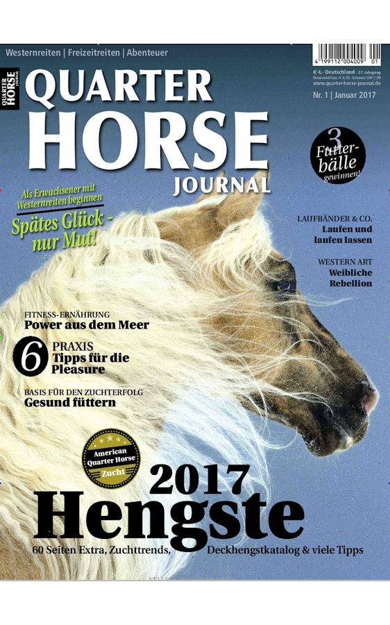 Quarter Horse Journal - epaper- screenshot