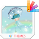 Leaves and Bubbles Xperia Theme apk