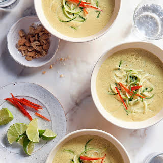 Curried Coconut Soup with Veggies.